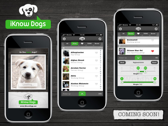 iKnow Dogs iPhone App