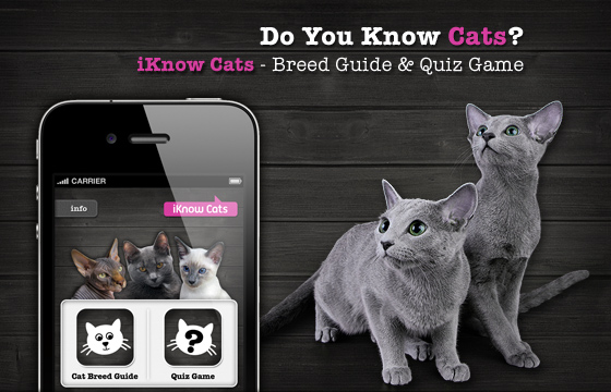 iKnow Cats - Breed Guide & Quiz Game