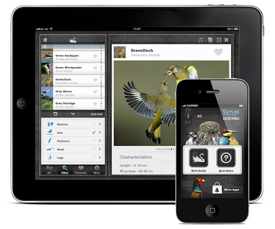 Birds PRO for iPad, iPhone and iPod Touch