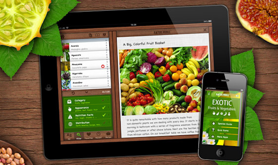 Nature Mobile: Exotic Fruits & Vegetables