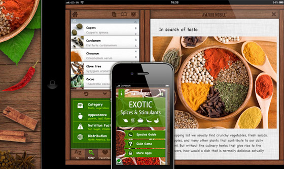 Nature Mobile: Exotic Spices & Stimulants