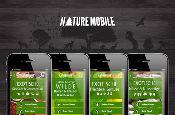 NATURE MOBILE: New Apps